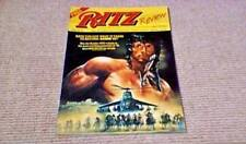 RITZ VIDEO 1989 STALLONE RAMBO 3 EMPIRE OF THE SUN MICKEY ROURKE HARRISON FORD