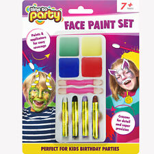 Time to party Face Paint Set Halloween party fun. Kids party face paint