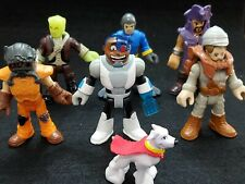 Lot of 7 Imaginext Action Figures