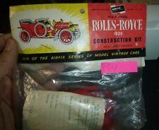 AIRFIX #64 1/32 1905 ROLLS ROYCE KIT MODEL CAR MOUNTAIN Vintage  fs