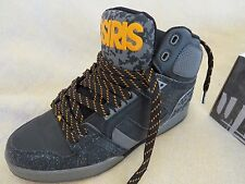 Original, neu, OVP: OSIRIS NYC 83 Bronx BLK/ORG/DIGI digital design,sneakers 43