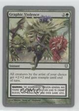 2004 Magic: The Gathering - Unhinged Booster Pack Base #100 Graphic Violence 1m8