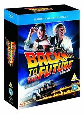 BACK TO THE FUTURE Complete Collection Trilogy Box Set Part 1+2+3 BLURAY NEW