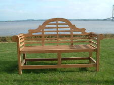 TOP QUALITY HUMBER TEAK 1.67 METRE LUTYENS CLASSIC BENCH PATIO GARDEN FURNITURE