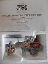Brand New - Department 56 Chelsea Market Fruit Monger & Cart