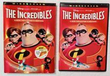 Disney/Pixar The Incredibles (Dvd, 2005 Widescreen 2-Disc Collector's Edition)