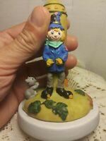 "Vintage Ceramic Halloween Cookie Stamp ""Scarecrow"" By Nantucket."