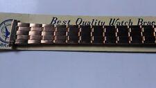 BRACELET DE MONTRE watch band/  METAL extensible   doré    16/22mm      /  VQ34