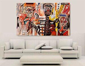 Canvas Wall Art - Jean Michel Basquiats - Philistines