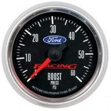 "Auto Meter 880106 2-1/16"" Ford Racing Mechanical Boost Gauge, 0-60 PSI"
