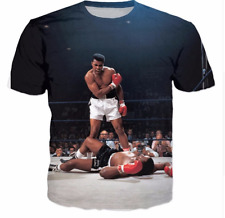 New Fashion Womens/Mens Muhammad Ali Funny 3D Print Casual T-Shirt JK101