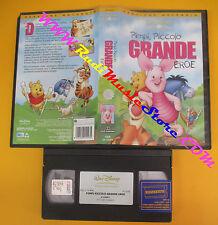 VHS film PIMPI PICCOLO GRANDE EROE animazione WALD DISNEY VI 5193 (F136) no dvd