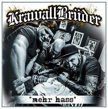 KRAWALLBRÜDER - MEHR HASS   CD NEU