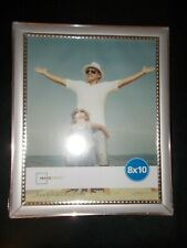 Mainstays Silver Bead 8x10 Picture Frame (not glass)