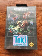 Toki Going Ape Spit - NEW Sealed - Sega Genesis