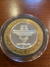 Limited edition Las Vegas Gaming Token Palace Station Hotel .999 Silver