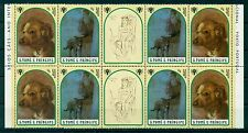 SAO TOME & PRINCIPE * 1981 * Block of 4 *MNH** Dog Paintings - Mi. No723-724
