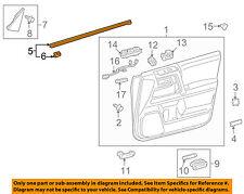 TOYOTA OEM Front Door Window Sweep-Belt Molding Weatherstrip Left 6817260080