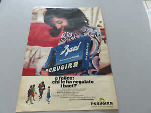 Advertising On Pag. Original Years 50/60 Advertising Vintage Baci Perugina
