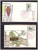 s10964) JAPAN JAPON 1977, Nature, cicade 1v FDC + ,MAXICARD