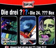 3 CDs * DIE DREI ??? (FRAGEZEICHEN) - BOX 24 - FOLGEN 70-72 # NEU OVP =