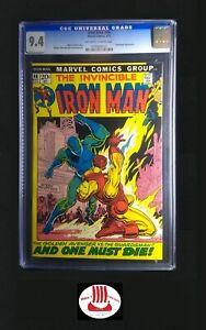 Iron Man #46 CGC 9.4 | Marvel 05/1972 Classic Cover d: Guardsman 1st Aero-Tank