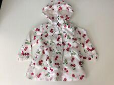 Pampolina Baby Girls Jacket, Coat, Size 80 12 Months, Cherry, Vgc