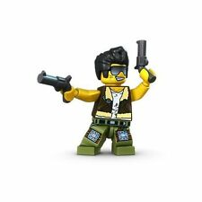 LEGO 9467/9461 Monster Fighters Frank Rock Minifig Minifigure w/ Pistols *NEW*