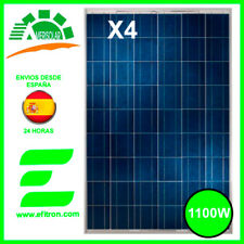 CUATRO Placa solar panel  fotovoltaico1100 WP (4X 275 Wp) 60 células  AMERISOLAR