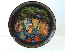USSR Russian Hand Painted PALEKH Fairy Tale The Twelve Months Collector's Plate