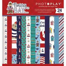 """MONTEREY BAY Collection 6"""" x 6"""" Inch Paper Pad by Photo Play MON9741 New"""