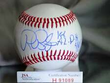 RON BLOMBERG JSA CERTED  AUTOGRAPH BASEBALL AUTHENTIC SIGNeD