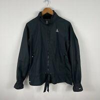 Nike ACG Womens Jacket Large Black Long Sleeve Zip Pockets