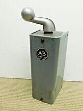 A-B Allen Bradley 365 Size 0, 2 Speed 3 Position Drum Switch Machine Control