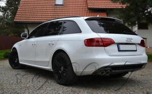Fits Audi A4 B8 (2008 -2015) Estate - Roof Spoiler