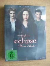 DVD Special Fan Edition Twilight Biss zum Abendrot + 3 Fotokarten + 2Std Extras