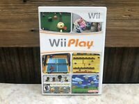 Wii Play - Nintendo Wii - Complete in Case w/ Manual - Tested - Free Ship #3
