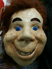 Vintage Howdy Doody Mask  latex full mask  its Howdy Doody Time