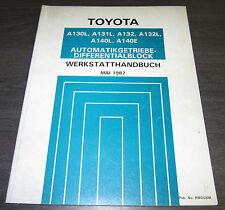 Werkstatthandbuch Toyota Celica ST162 Corolla EE90 Starlet EP71 Getriebe Automat
