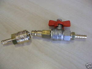 6mm Microbore WFP Quick Release Connector & Tap