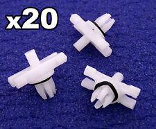 20x BMW e46 tagliare clip per grondaia tetto pioggia plastica Stampaggio Trim 51138204858