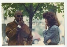 Avery Brooks & Barbara Stock - Original Vintage Candid Photo by Peter Warrack