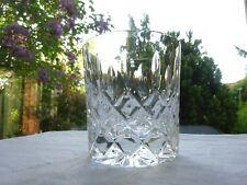 "Stuart Crystal Tewkesbury Whisky Tumbler/Glass 3 1/4"""