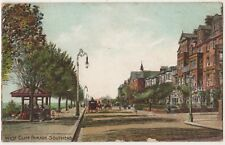 West Cliff Parade Southend on Sea Essex 1907 Postcard B798