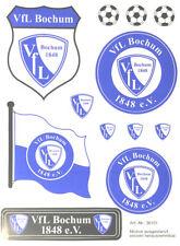 VfL Bochum Aufkleber Sticker Set - Groß- !!! - 12 Logos Bundesliga Fussball #600