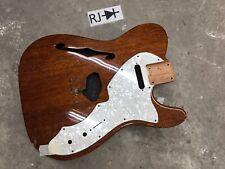 Telecaster Guitar Body Thinline Mahogany