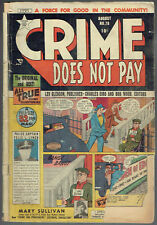 CRIME DOES NOT PAY  78  FR/1.0  -  Great entry-level reading copy!