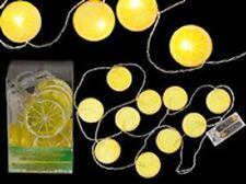 Kitsch retrò ispirato fette di limone LED Luce Garland