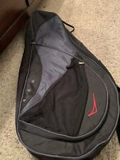Double Tennis Racquet Bag. 2 inner compartments. 2 outer zipper carrier comparts