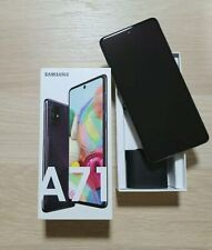 Samsung Galaxy A71 - Duos - Black - 128GB - Factory Unlocked - (VATRECLAIMABLE)